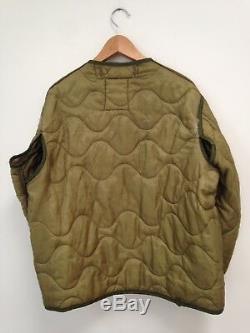 1970's Vintage Olive Green Army M65 Field Jacket Medium Regular Alpha Industries
