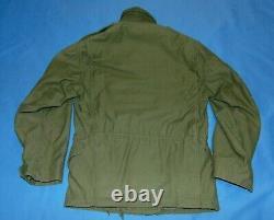 1971 Alpha Ind. Vietnam Era Named M-65 Cold Weather Field Jacket Medium Short