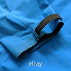 2009 Arcteryx Alpha SL Jacket Gore Tex Paclite Waterproof Blue Mens Medium