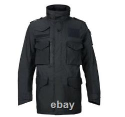 $350 Burton Undefeated Alpha Industries M-65 Trench Jacket Black Dryride M L