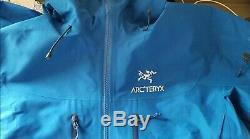 $425 Arc'teryx Mens Alpha SV GORE-TEX Pro Jacket blue Size Medium, used