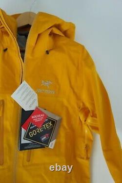 $599 NWT Arc'teryx M's Alpha AR Shell Jacket in Quantum Sz Medium M