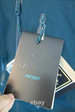 $799 NWT Arc'teryx M's Alpha SV Shell Jacket in Labyrinth Sz Medium M