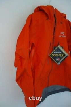 $799 NWT Arc'teryx M's Alpha SV Shell Jacket in Trail Blaze Sz Medium M
