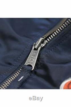 ALPHA INDUSTRIES MA1 LW Bomber Jacket Rep Blue
