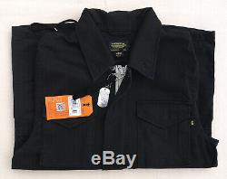 ALPHA INDUSTRIES M-65 Revival Field Coat Black Lightweight Jacket Men's Medium
