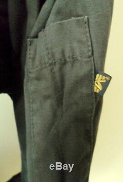 ALPHA IND Mens Hooded Parka Jacket Belted Kydd Cotton Khaki Medium