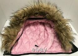 ALPHA KAPPA ALPHA Women Wool Full Zip Stitched Hoodie Jacket M Big Boy Headgear