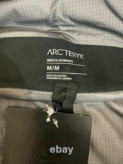ARCTERYX ALPHA SV JACKET MEN'S BLACK 24K size MEDIUM NEW WITH TAGS