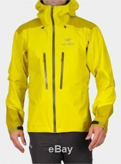 ARCTERYX Alpha AR Jacket Lichen Size Medium Gore-tex Pro RRP £500