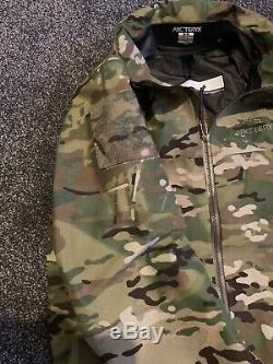 ARCTERYX LEAF Alpha Jacket Gen 1 Multi Cam Size Medium