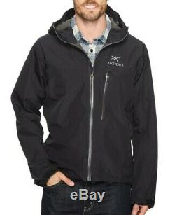 Acteryx Mens Alpha SL Gore-tex Jacket Black Medium RRP £360 TRUSTED