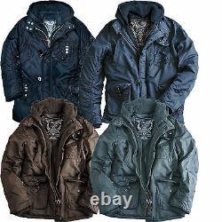 Alpha Industries Cobbs 2 Winter Parka Coat Jacket