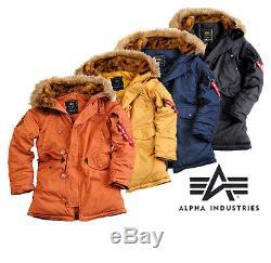 Alpha Industries Explorer Women Women's Jacket Parka Bomber Coat New