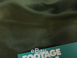 Alpha Industries MA-1 Flight Jacket Sage Green Size Medium American Culture Logo