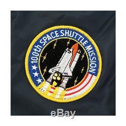 Alpha Industries MA-1 NASA Jacket Replica Blue, Rust, White MJM21093C1