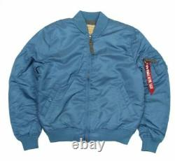 Alpha Industries MA-1 VF 59 Air Force Blue Bomber Jacket