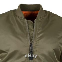 Alpha Industries Ma-1 Slim Fit Flight Jacket Vintage Olive