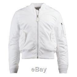 Alpha Industries Ma-1 Slim Fit Flight Jacket White