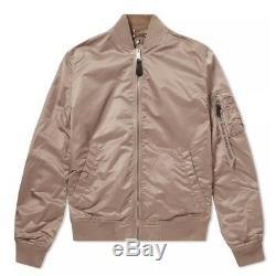Alpha Industries Ma-1 Vf Lw Reversible Jacket Mauve & Desert Camo Size M Bnwt