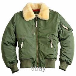 Alpha Industries Men's Injector III Bomber Jacket Various Colours Available