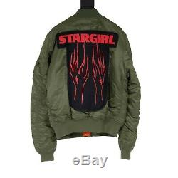 Alpha Industries The Weeknd Stargirl Bomber Jacket Size M Xo Tour Merch
