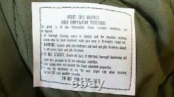 Alpha Industries Vintage Cold Weather Jacket Aramid 1986 Medium Short Mint