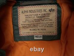 Alpha Industries ma-1 vf 59 bomber flight jacket size M