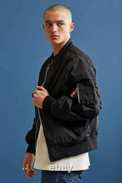 Alpha Industries x Urban Outfitters Scout L-2B Light Weight Bomber Jacket Black