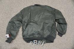 Alpha L2a/l2b Flight Jacket Replica Sage Medium Rare