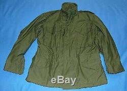Alpha New Dead Stock Original Vintage Us Army Vietnam M65 Jacket Medium Sh 1972