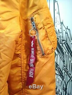 Alpha industries Refueler Jacket Orange