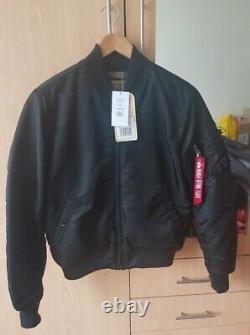 Alpha industries bomber jacket Medium