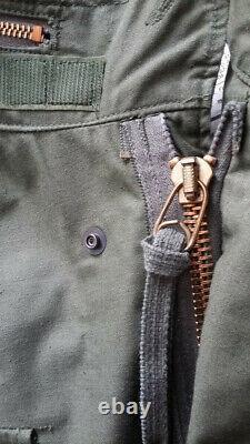 Alpha m65 field jacket/ field coat OG 1981 med-reg