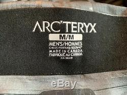 Arc Teryx Alpha SV Gore Tex PRO Jacket Men's Medium Black Color