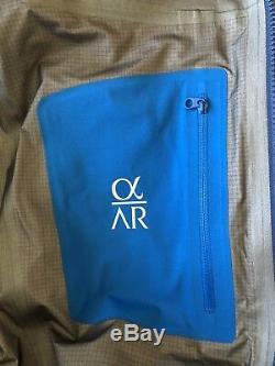 Arc'teryx Alpha AR GTX Jacket / Mens Medium / Triton Color / NWT