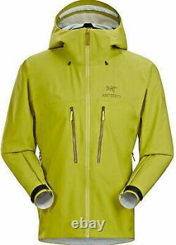 Arc'teryx Alpha AR Jacket men, 3L Gore-Tex Pro Glade, size M, RRP 600