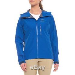 Arc'teryx Alpha FL Gore-Tex Pro Jacket Somerset Blue Women's Medium