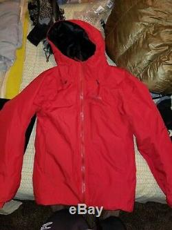 Arc'teryx Alpha IS Insulated GoreTex Jacket Men's Medium Red Magma
