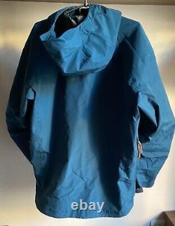 Arc'teryx Alpha Lt Jacket Gore Tex Pro Shell Mens Medium Made In Canada Dusk