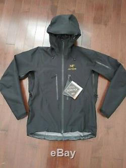 Arc'teryx Alpha SV Jacket / 24K Black Men's Medium (Retails $799)