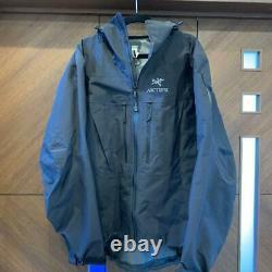 Arc'teryx Alpha SV Jacket Men's Black Size M USED From Japan F/S