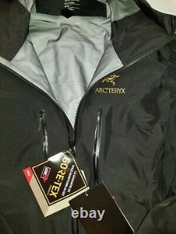 Arc'teryx Alpha SV Jacket Men's Medium 24K Black 25681 New with Tags