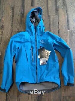 Arc'teryx Alpha SV Jacket Men's Medium Adriatic Blue New With Tags