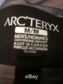 Arc'teryx Alpha SV Jacket Men's Medium Black Brand New With Tags