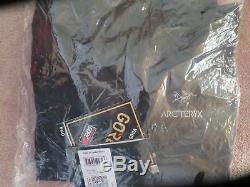 Arc'teryx Alpha SV Jacket Mens Medium Black