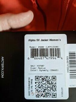 Arc'teryx Alpha SV Jacket Women's Medium Dynasty 2020