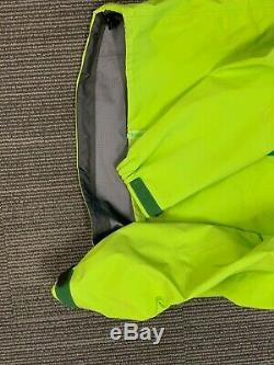 Arc'teryx Alpha SV jacket, Mens Medium, lime green color