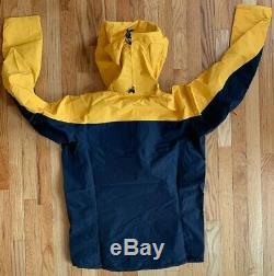 Arc'teryx Alpha Sl Pullover Anorak Jacket Concrete Amber Color Mens Medium Nwt