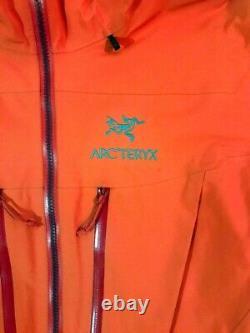 Arc'teryx Alpha Sv Ski Jacket Men's Medium Gore-tex Pro Shell Used 8 Times